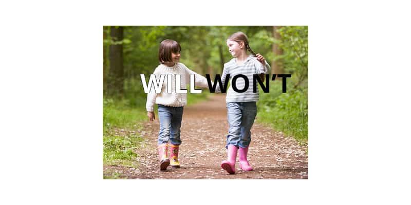 Cách dùng WILL và WON'T với các thì tương lai