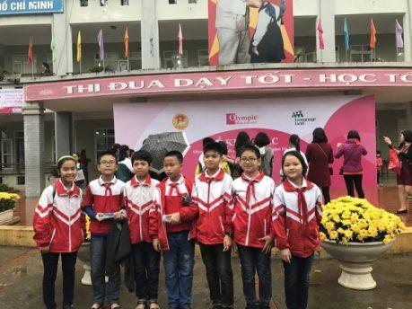 Hơn 1200 thí sinh đã kết thúc vòng sơ khảo Olympic Tiếng Anh Tiểu học lần thứ 14