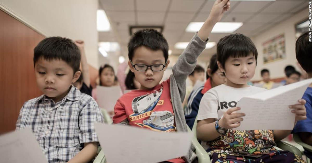 Mẫu giáo – giai đoạn vàng cho trẻ học tiếng Anh