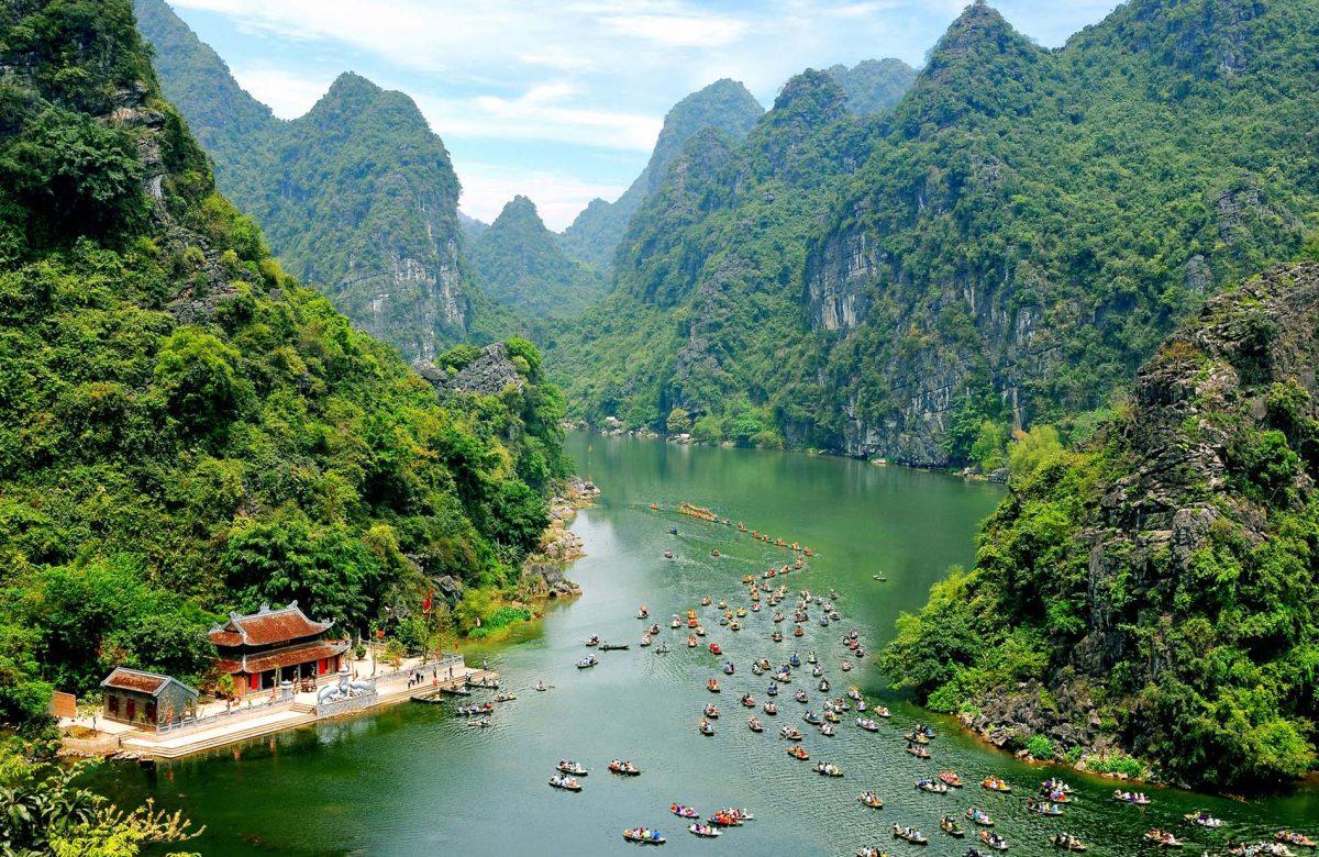 hình ảnh khu du lịch sinh thía Tràng An