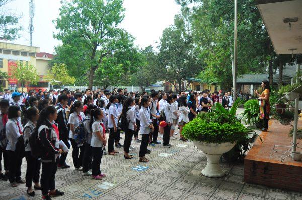 Quận Nam Từ Liêm tổ chức buổi giao lưu Olympic tiếng Anh lớp 9