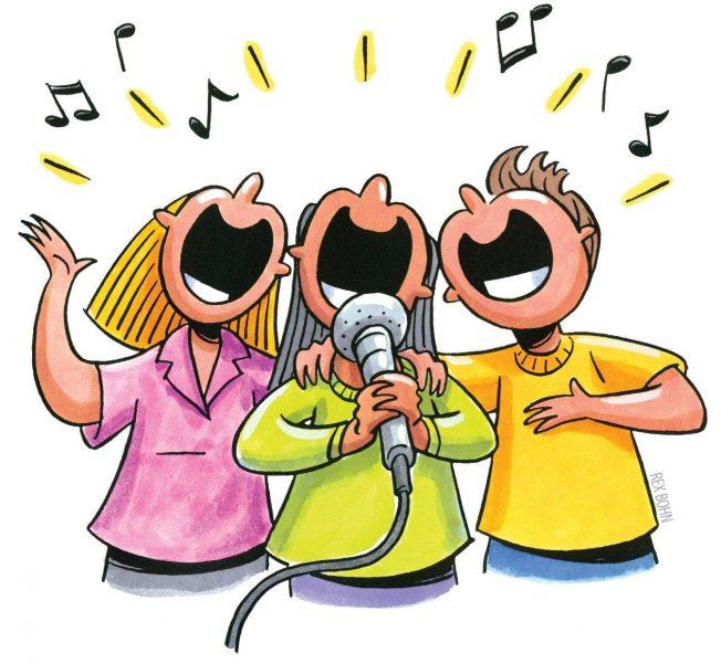 Hát theo các bài hát tiếng Anh là cách hữu hiệu để đạt kết quả học tập cao