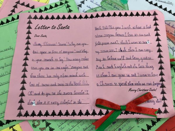 Bức thư gửi ông già Noel của bạn Ninh Thị Phương Anh