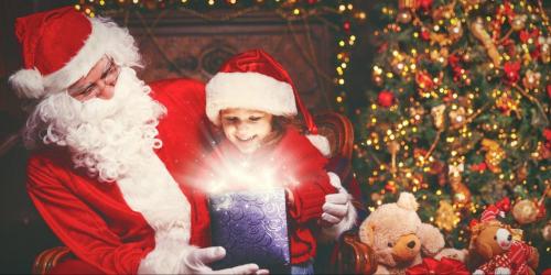 Bức thư gửi ông già Noel hay nhất