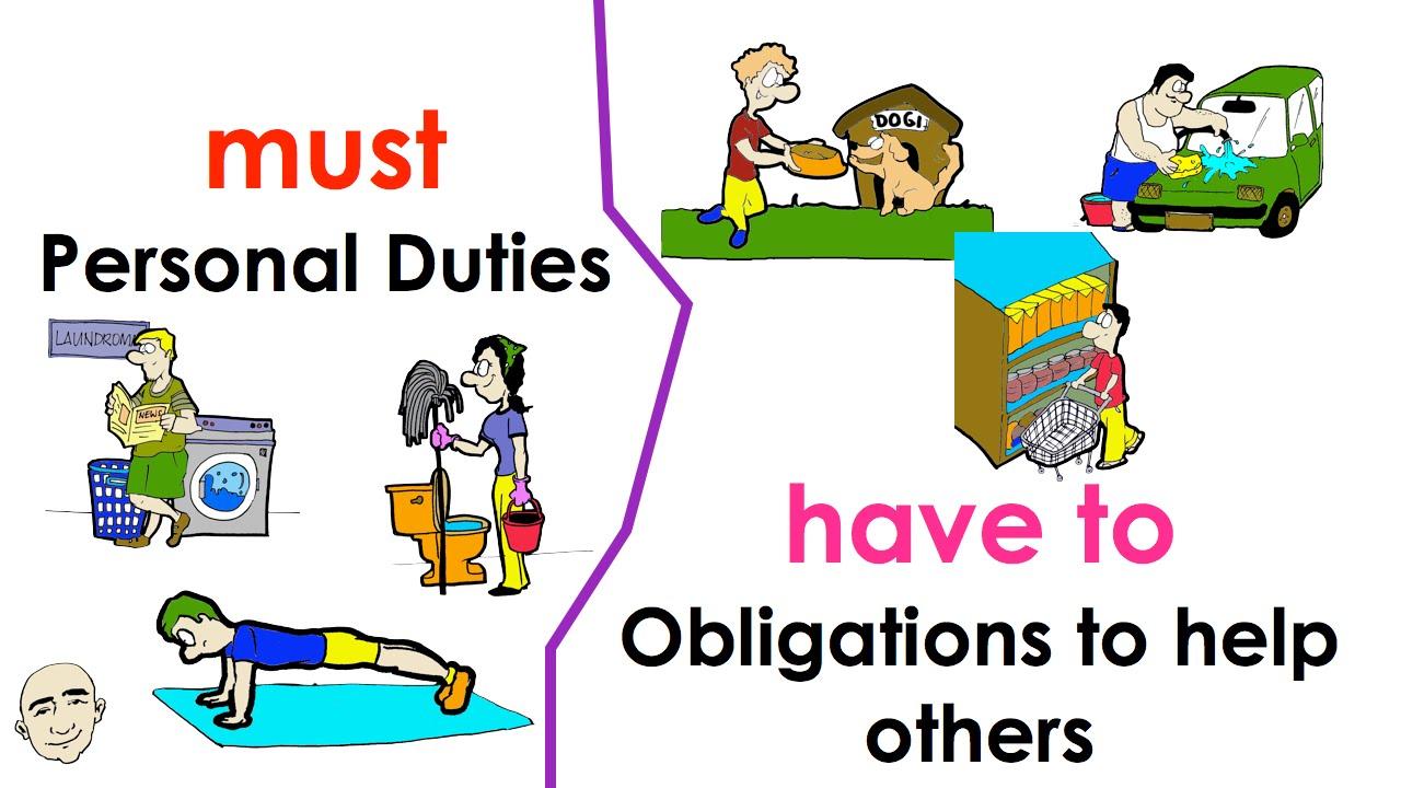 Cách sử dụng đúng động từ khuyết thiếu must và have to