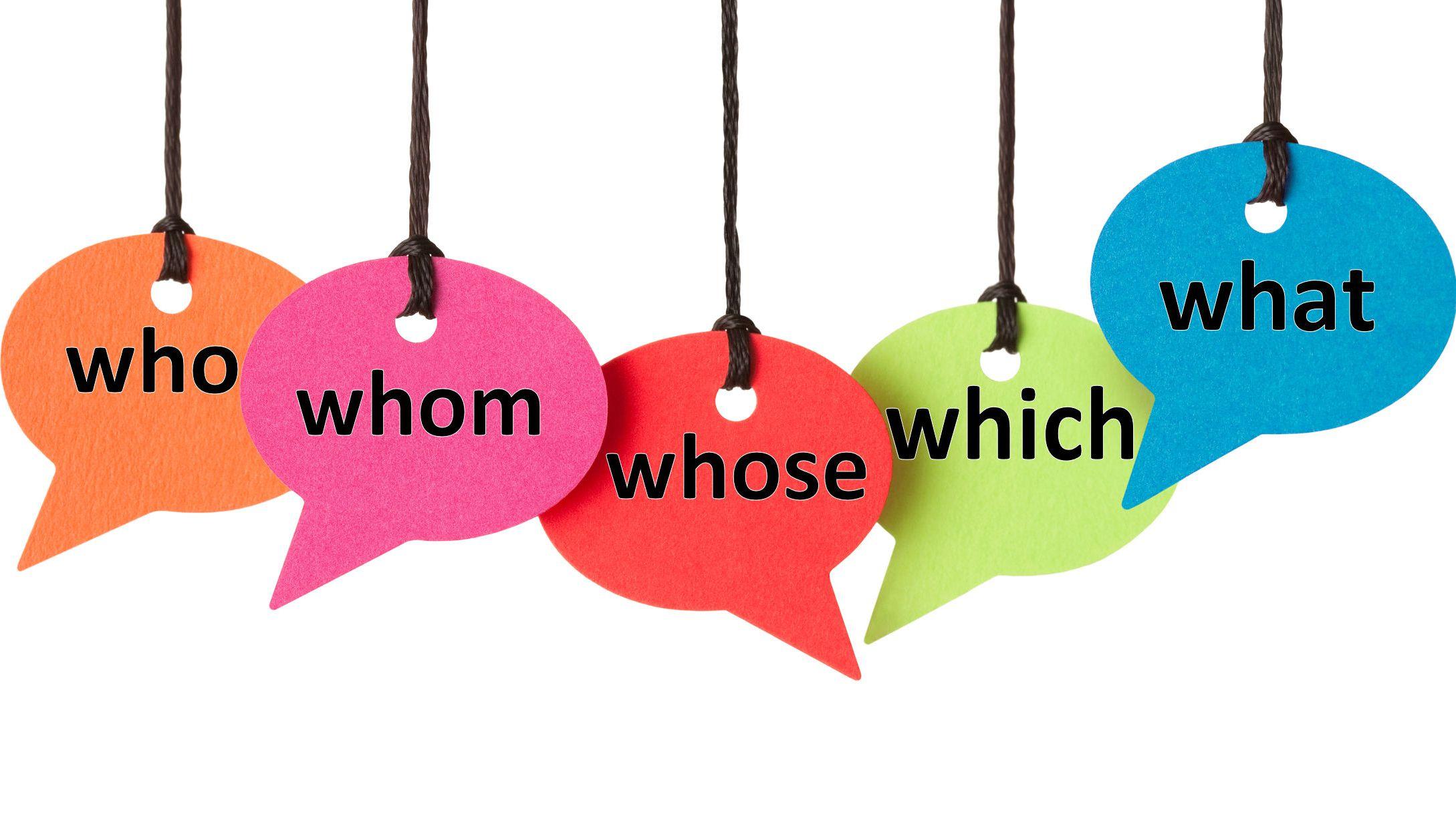 Đại từ nghi vấn - Một loại đại từ trong tiếng Anh