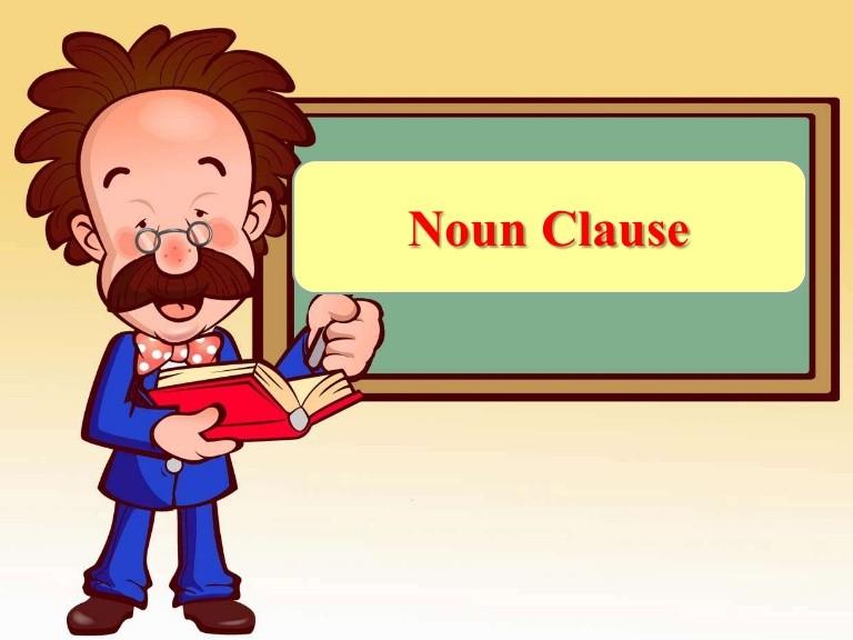 Định nghĩa về mệnh đề danh ngữ
