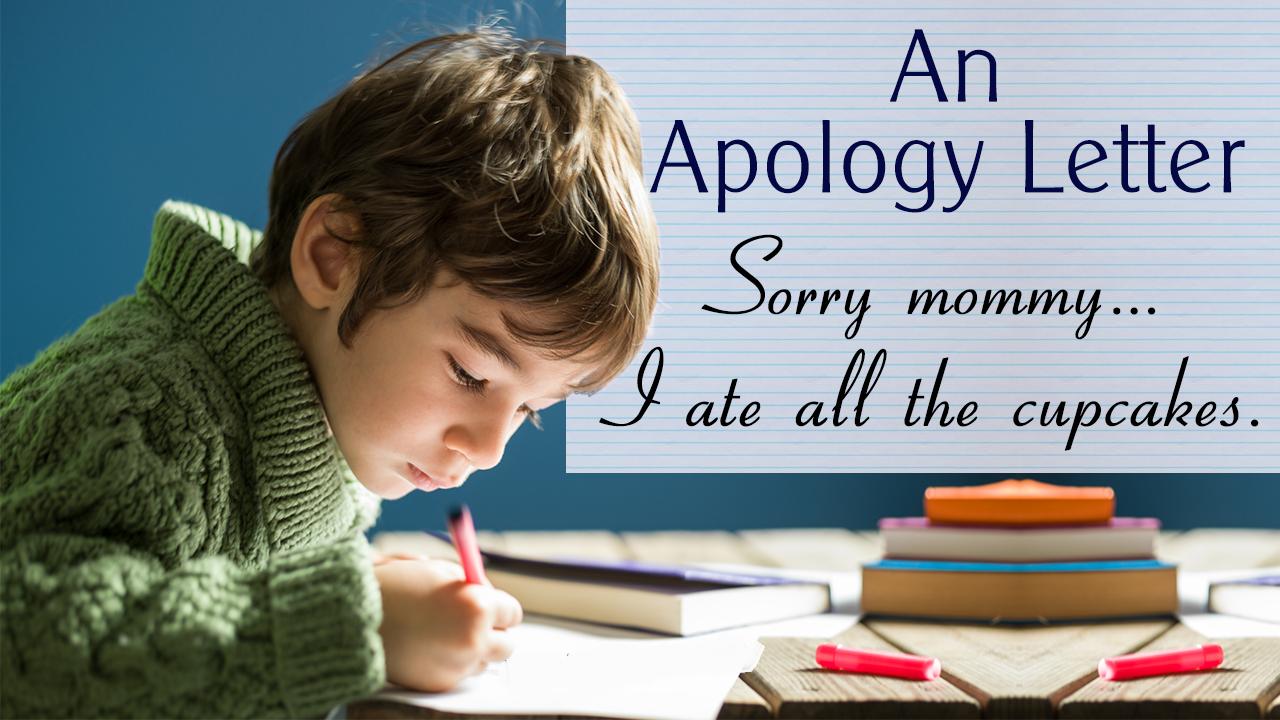 Cách viết thư xin lỗi tiếng anh thông minh và cảm động