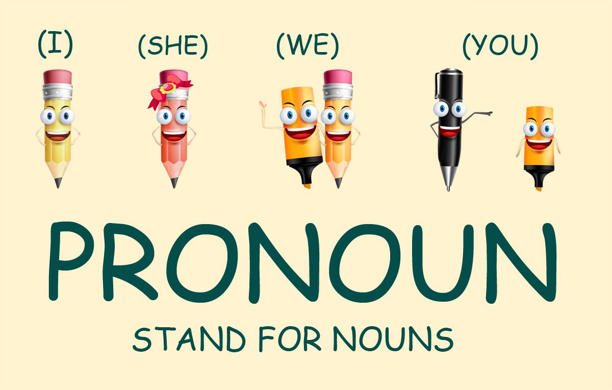Định nghĩa đại từ trong tiếng Anh