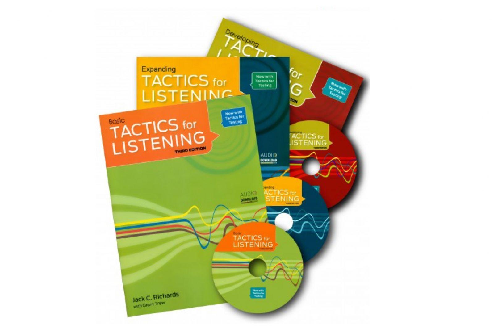 Bộ giáo trình Tactics for Listening giúp bạn tự tin giao tiếp tiếng Anh