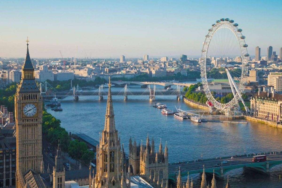 ảnh minh họa cho từ vựng tiếng Anh về thành phố