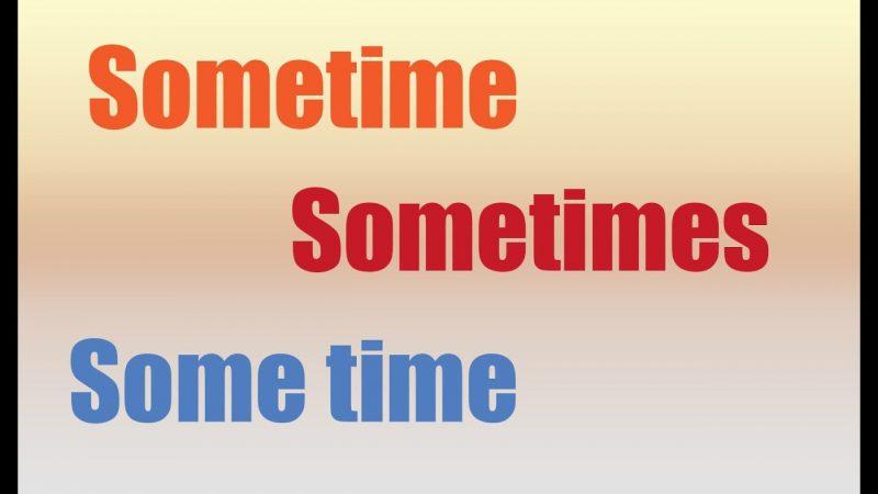 sometime-sometimes2
