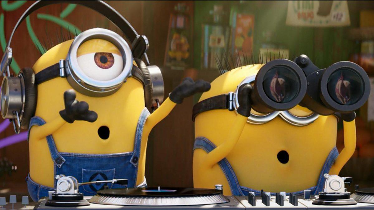 hai chú Minions đang ngạc nhiên