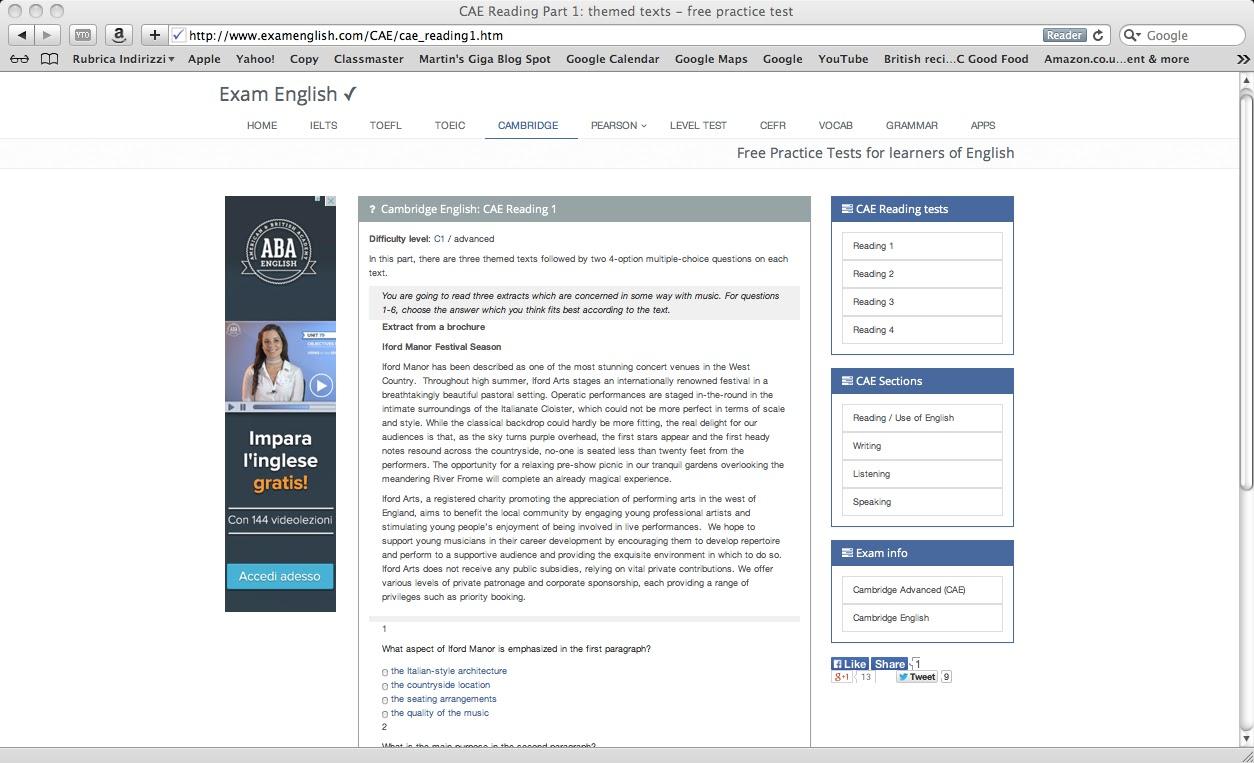 Examenglish.com - Website hỗ trợ làm bài tập tiếng Anh hiệu quả