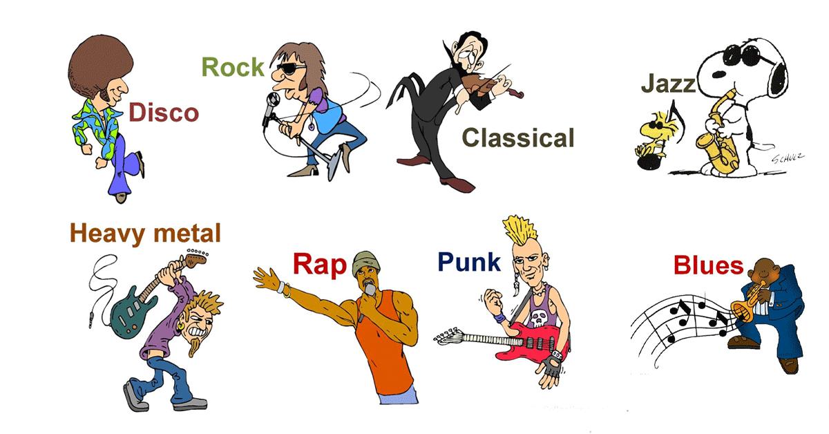 Từ vựng chủ đề thể loại âm nhạc