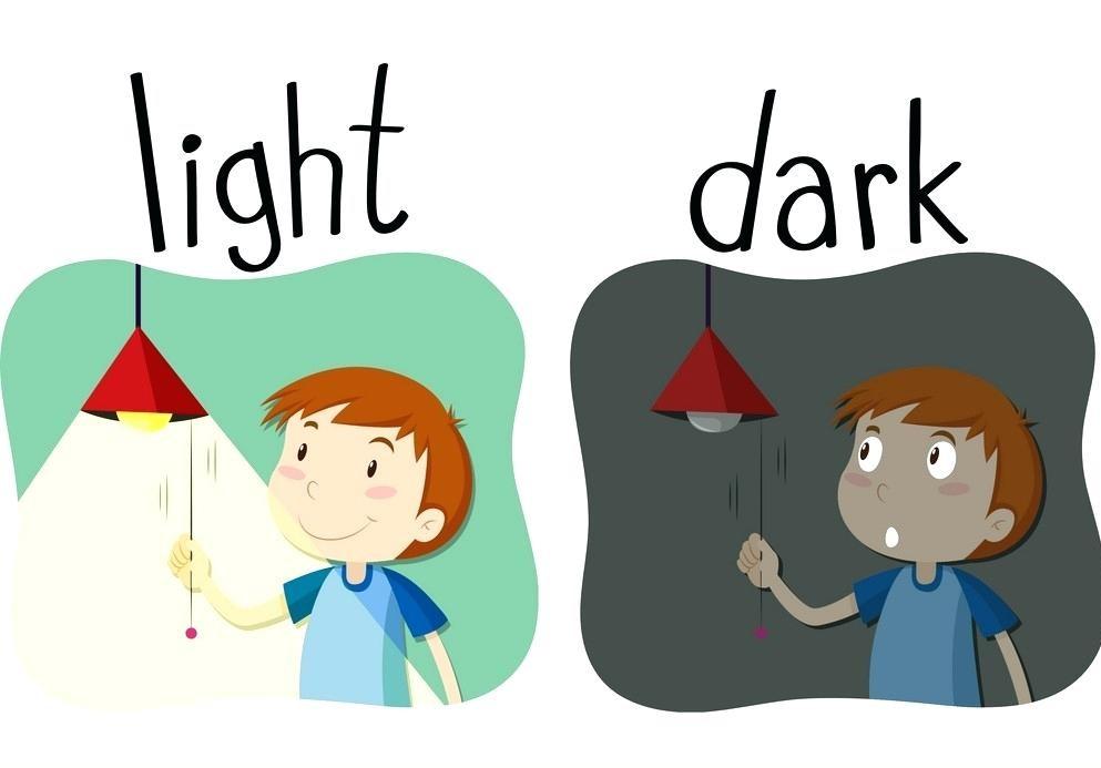 35. dark - light