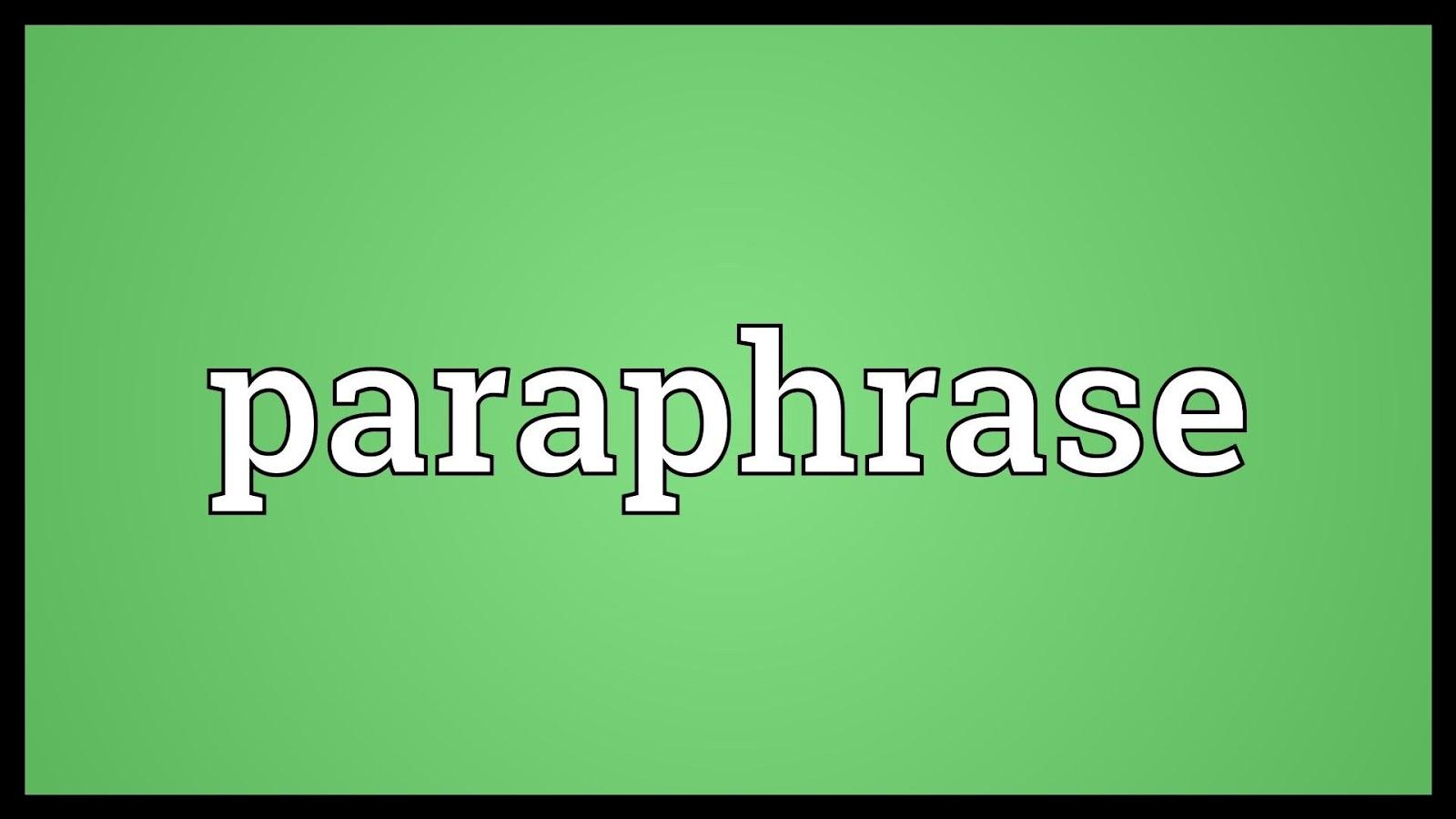 Paraphrase là kỹ năng cần thiết trong Reading nói riêng và kỳ thi IELTS nói chung