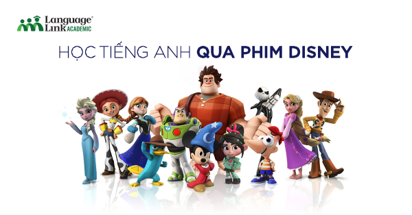 Học tiếng Anh qua phim Disney