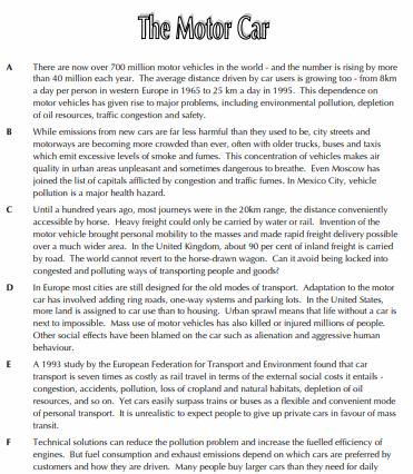 Tổng quan về phần IELTS Reading2