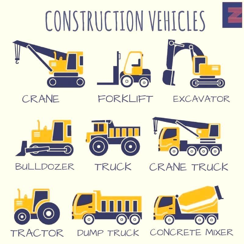 Từ vựng tiếng Anh chuyên ngành xây dựng - Phương tiện chuyên dụng