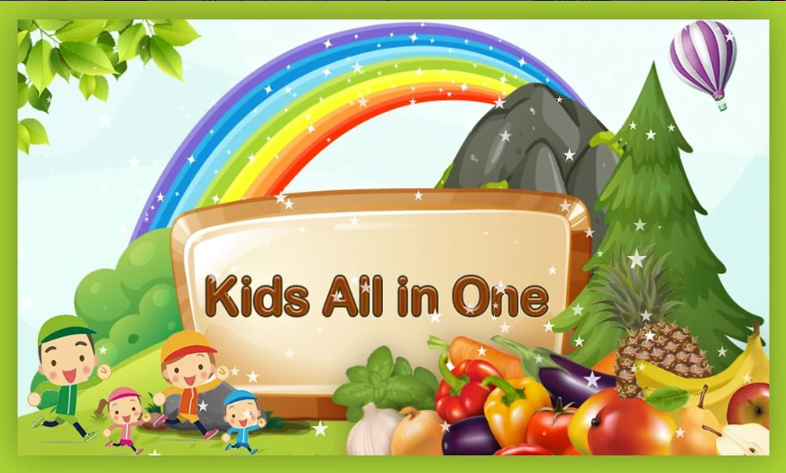 Thiết kế vô cùng dễ thương và bắt mắt của Kids All in One
