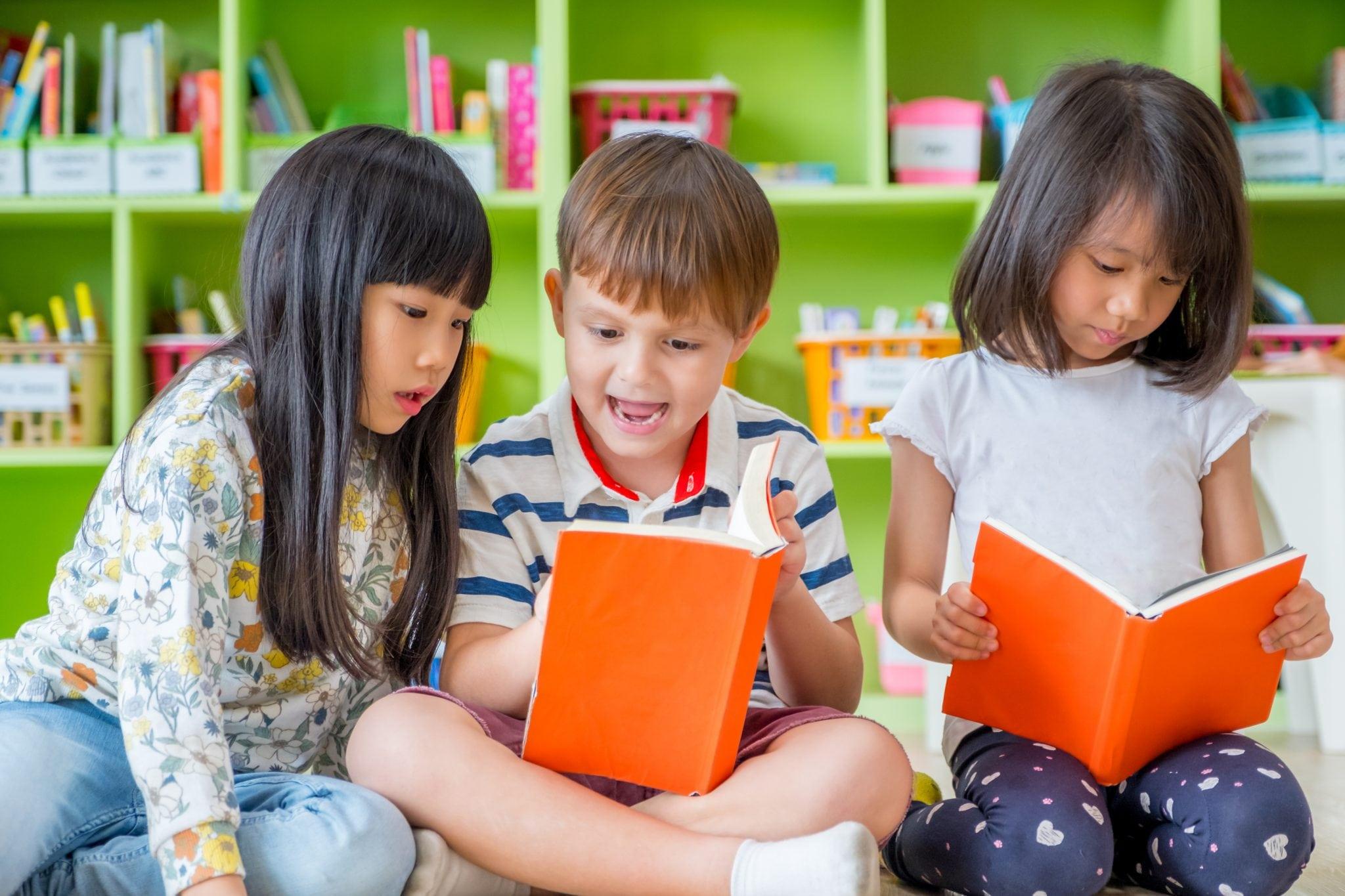 học tiếng Anh cho trẻ mầm non