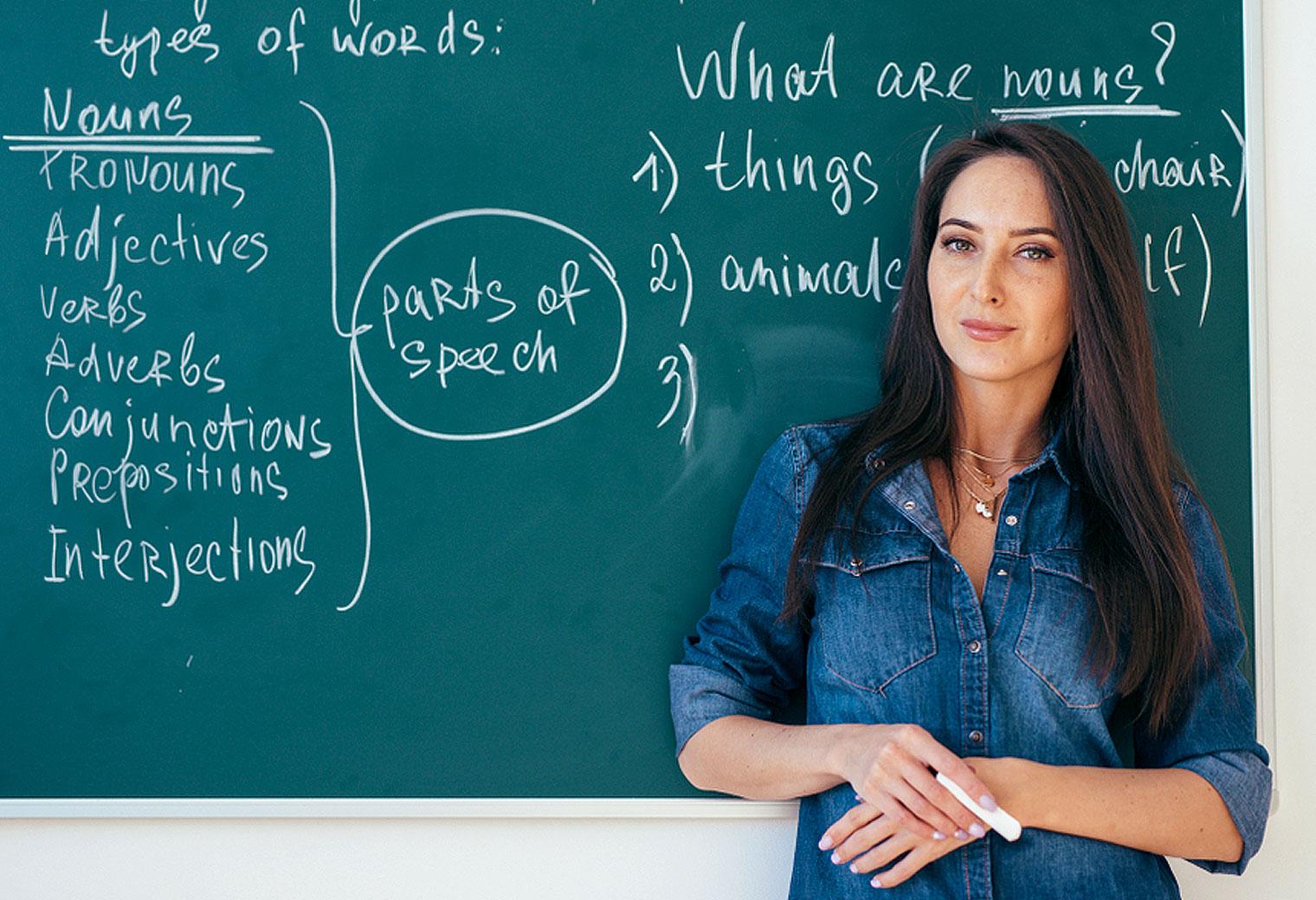 Chương trình giảng dạy cũng phản ánh chất lượng của các trung tâm tiếng Anh