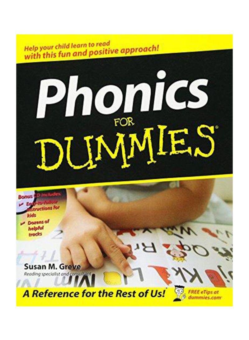 """Bìa cuốn sách """"Phonics for Dummies"""""""