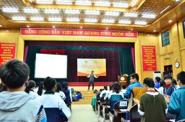 Học sinh tham dự vòng Chung khảo tại ĐH Công Đoàn