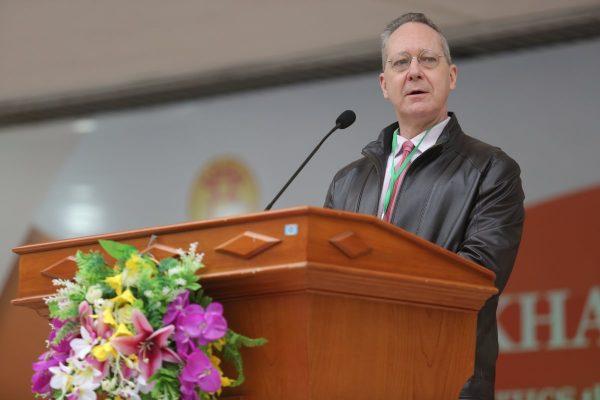 Gần 1300 thí sinh tham gia cuộc thi Olympic Tiếng Anh THCS lần thứ 9