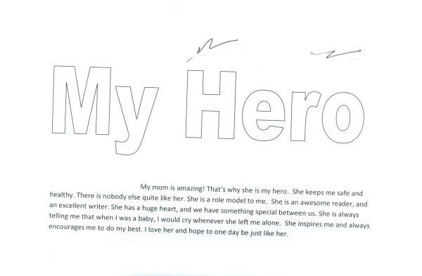 Hướng dẫn chi tiết bài viết về người hùng của em