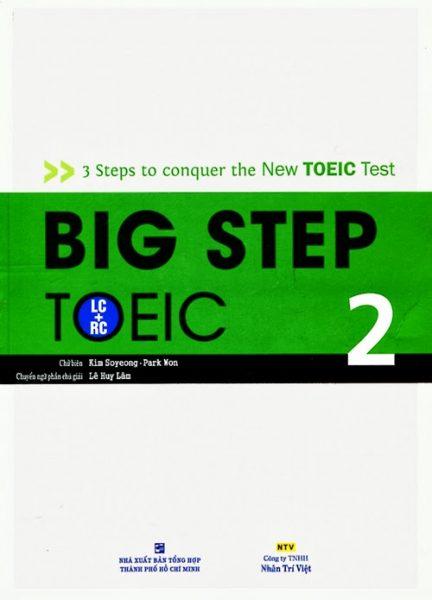 Cuốn sách Big step 2 luyện thi TOEIC chuẩn nhất