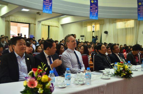 Ông Gavan Iacono - Tổng Giám đốc Tổ chức giáo dục Language Link Vietnam