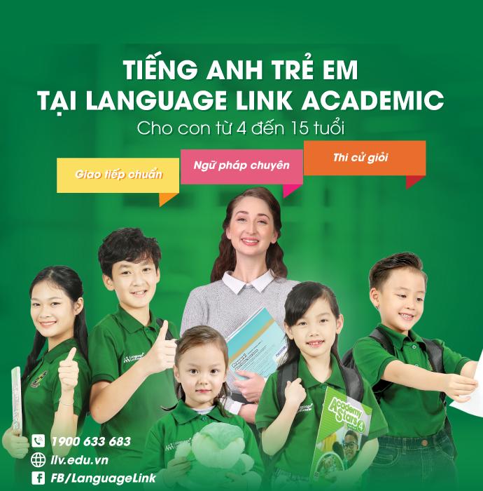 Tiếng Anh trẻ em - Language Link Academic