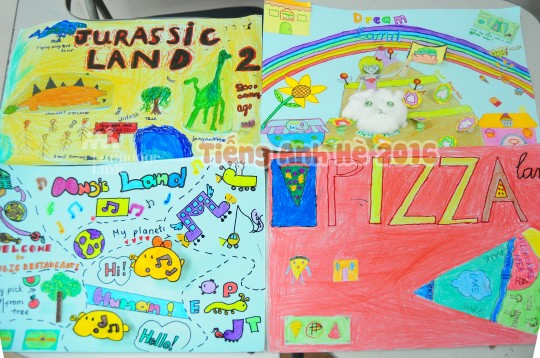 """Jurassic Land, Music Land, Dream Land and Pizza Land. """"Tuyệt phẩm"""" nào sẽ được vinh danh tại Talent Show 2016?"""