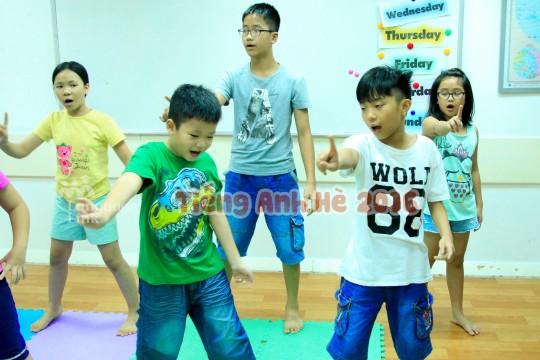 Các choir linkers của Đại Cồ Việt & Láng Hạ đang hăng say tập luyện!